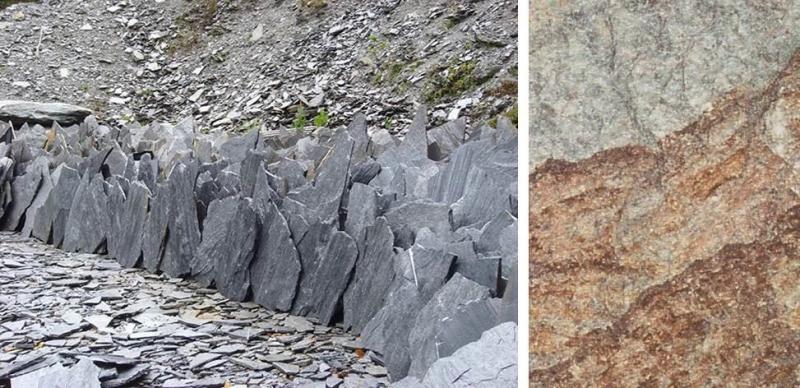 Ardoises schistes et gneiss pierres naturelles pierre - Pierre de schiste ...